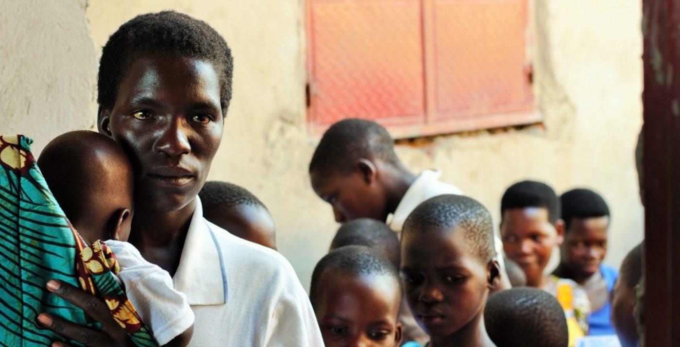Child Hug Uganda